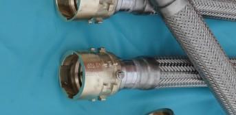 63. Металлорукава Ду65 с концевой арматурой гайки EIGA DN60